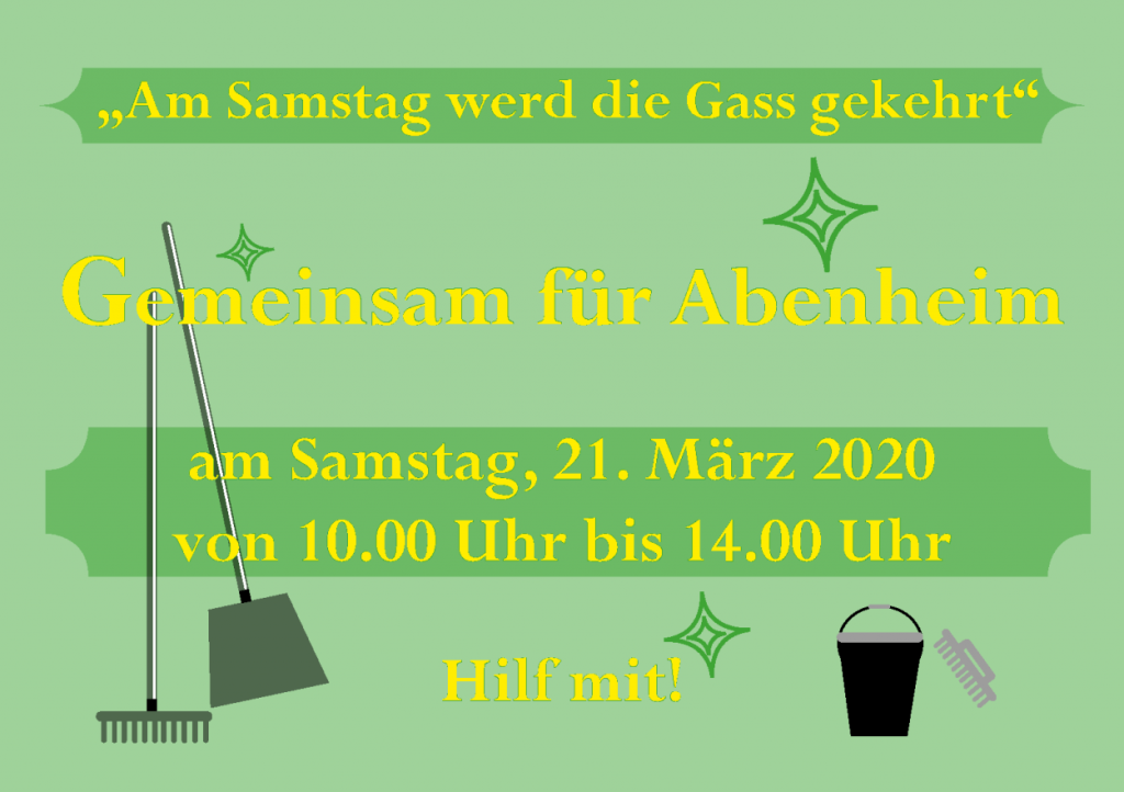 Bild für Dreck-weg-Tag 2020