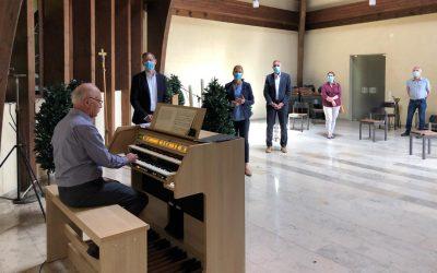 Neue Orgel in der Abenheimer Trauerhalle