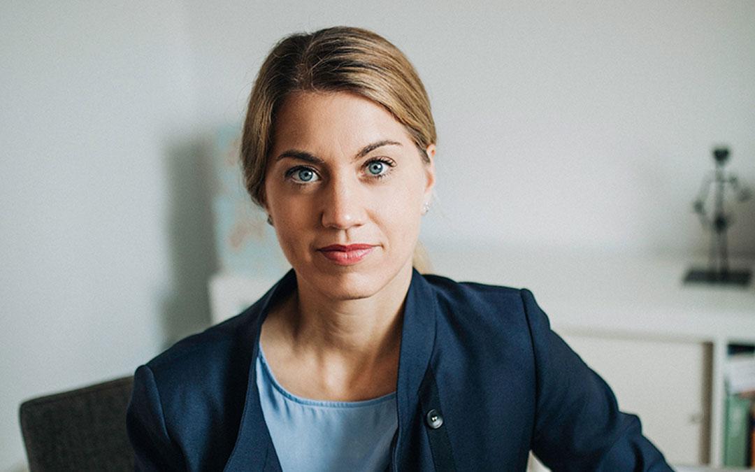 Stephanie Lohr (Ortsvorsteherin, MdL) bittet um Solidarität und Zusammenhalt