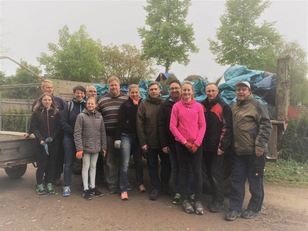Gruppenfoto Dreck-weg-Tag 2019
