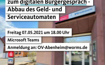 Digitale Bürgersprechstunde